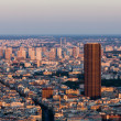 Stock Photo: Paris- aerial view