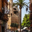 Постер, плакат: Small Street in Palma de Mallorca