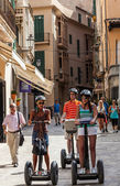 Segway Tour in Palma de Mallorca — Stock Photo