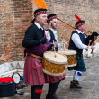 Scottish Musical Band - Stockfoto