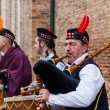 Scottish Musical Band — Lizenzfreies Foto