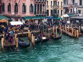 Venetian Dock — Stock Photo
