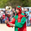 Medieval Entertainer — Stock Photo