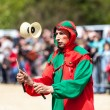 Stock Photo: Medieval Entertainer
