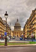 Rue Sufflot in Paris — Stock Photo