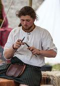 Medieval Scottish Jeweller — Stock Photo