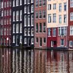 Amsterdam Reflections — Stock Photo