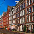 Mamixstraat in Amsterdam — Stock Photo