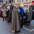 Parade of Medieval Costumes — Stock Photo