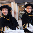 Two Medieval Men — Stock Photo