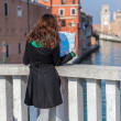 Stock Photo: Exploring Venice