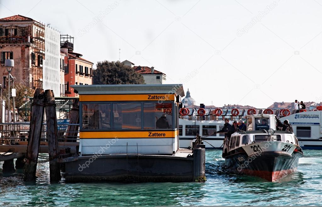 Vaporetto zattere venezia
