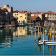 Small Port in Venice — Stock Photo
