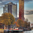 Rotterdam Skylines — Stock Photo