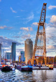 De haven van rotterdam — Stockfoto