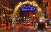 Strasbourg- Christmas Capital — Stock Photo