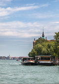 Venetian Waterbus Station — Stock Photo