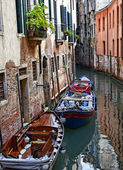 Small Venetian Canal — Stock Photo