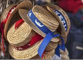 Gondolier's Hats — Stock Photo