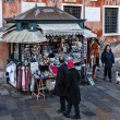 Kiosk with Souvenirs in Venice — Stock Photo