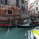 Venetian Traffic — Stock Photo