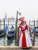 Venetiaanse kostuum — Stockfoto