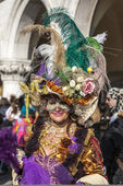 Complex Venetian Disguise — Stock Photo