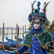 Blue Venetian Disguise - Photo