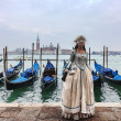 Venetian Lady — Stock Photo