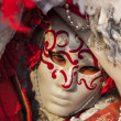 Stock Photo: Portrait of a Venetian Mask