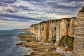 Cliffs of Etretat — Stock Photo