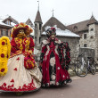 Disguised Persons in Annecy — Stock Photo