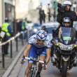 Paris- Nice Cycling Race Action — Stock Photo