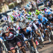 Peloton- Paris Nice 2013 in Nemours — Stock Photo #22259023