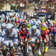 The Peloton- Paris Nice 2013 in Nemours — Stock Photo #22259031