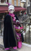 Disguised Person in Annecy — Stock Photo