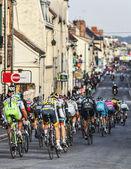 The Peloton- Paris Nice 2013 in Nemours — Stock Photo