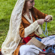 Stock Photo: Medieval Woman