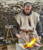 Portrait of a Blacksmith — Stockfoto