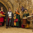 Medieval Band — Stock Photo