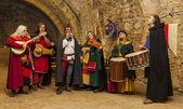 średniowieczny zespół — Zdjęcie stockowe
