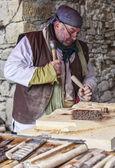 Carpenter working — Stock Photo