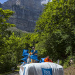 Ibis Budget Truck During Le Tour de France - Foto de Stock