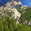 Peak in Dolomites Mountains — Stock Photo