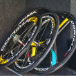 Professional Cycling Wheels — Stock Photo