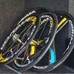 Professional Cycling Wheels — Stock Photo #24532325