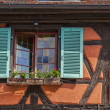 Royalty-Free Stock Photo: Detail of an Alsatian House