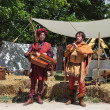 Medieval Troubadours — Stock Photo