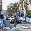 The Cyclist De greef Francis- Paris Nice 2013 Prologue in Houilles — Stock Photo