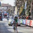 Cylist Siskevicius Evaldas- Paris Nice 2013 Prologue in Houilles — Stock Photo #26090333